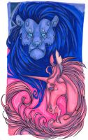 The Lion and the Unicorn by sprezzaturan