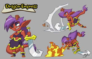 Dragon Empress by OniPolice