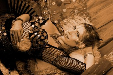Tribal Bellydancer - Sepia by sbgabers