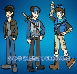 2018 Updated Designs by Zephyre-Eastwind