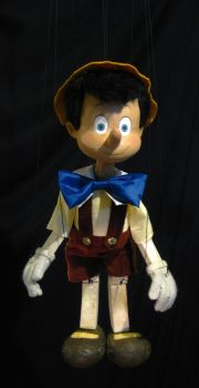 Pinocchio Marionette Replica by yensidtlaw1969