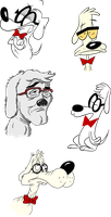 The Many Styles of Mr. Peabody by Lotusbandicoot