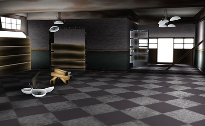 MMD Abandoned 01 by amiamy111
