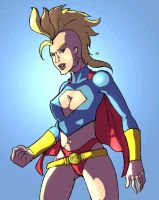 Mohawk Supergirl by jdcunard