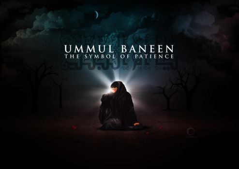 Ummul Baneen - The Symbol Of Patience by rizviArts