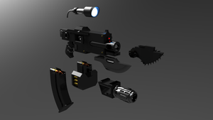 Warhammer Bolter Attachments by ClaireGrube