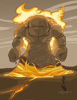 Magma Dude by Miss-Interocitor