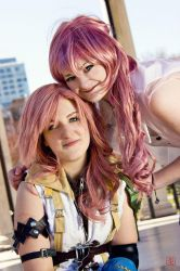 Farron Sisters. by BalthierFlare