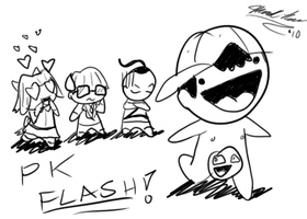 PK...Flash? by Modern-Abstraction