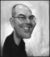 Tom Bancroft Caricature by Sycra
