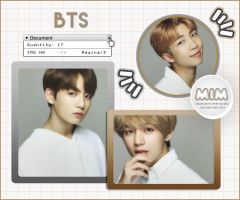Photopack - BTS 120 by MidnightInMemories