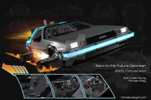 Back to the Future Delorean 2015 Conversion by trekmodeler