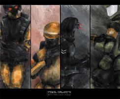 Concept - Rebel Soldiers by Jalingon3011