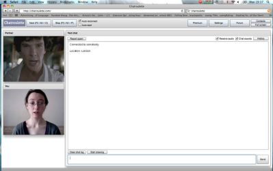Chatroulette by GothicVampireFreak