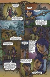 Morrigan Concept: Comic Page 2 by shrouded-artist