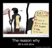 The Reason Justin Beiber is Still Alive by jay4gamers1