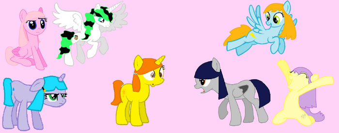 Stardust turns everyone ponee form o3o' by CookehzAndCream