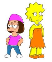 Lisa and Meg by adsta