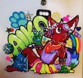 Aiko Rave Badge by KandiiPanda