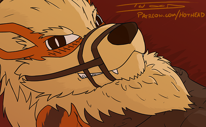 Arcanine - Patreon Preview by Big-Red-Hothead