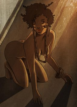 afrogirl by Pe-u