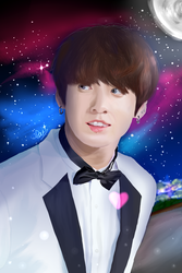 [DA] Shining Stars -180617 BTS Jungkook by DisappointmentRao