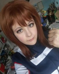 first instant as Uraraka by shinca95