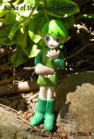 Clay Saria of Kokiri Forest by HeyLookASign