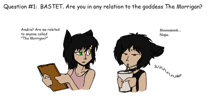 Ask Anubis Answer 1 by CoffeeAddictedDragon