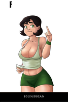 Avatar Genderbend - Bolin / Bolan by TheMightFenek