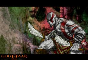'GOD of WAR' Kratos: ReSPECTs by siamgxIMA