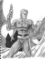Flash Gordon -Grayskull Commish by chachaman