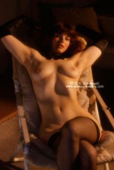 Mariel, nude on chair 0596-12 by GlamourAvenue