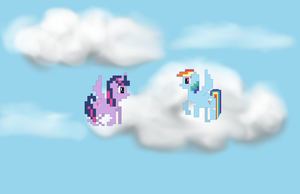 Pixel Art: Flight Practice by NPCtendo