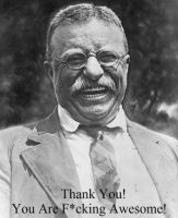 Theodore Roosevelt By Plasmoid70-d7lle9o by SouthernNerd