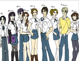 RP: JS High School by Nyxity