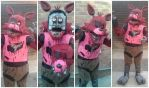 Foxy - Five Nights at Freddy's cosplay upgrade by sasukeharber