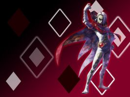 Ghirahim Background by MoonprinceOfShadows