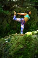 Yoga Outdoors 003 by PhillyPuddy