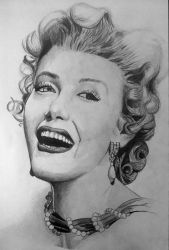 Marilyn Monroe by Miltage