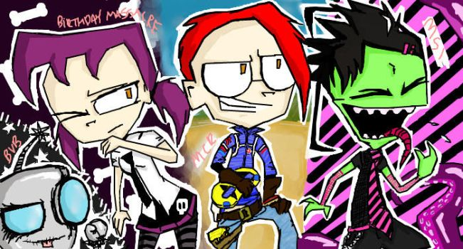 Invader Zim- ROCK by SpookyDolly