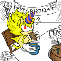 Happy Birthday Super Sonic by stc-fleetwayclub