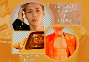[PNG PACK #59] Taemin (SHINee) by fairyixing