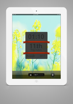 Bright Majic iPad LockScreen by jessecheema