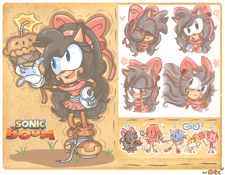 Sonic Boom: Alex the Hedgehog by chibiirose