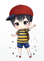Chibi Ness by Aquakuro