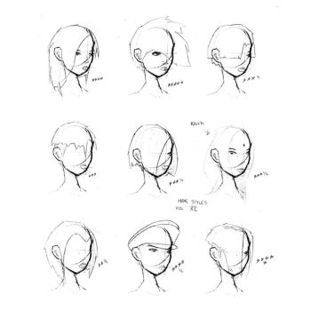 Haircut Explore Haircut On DeviantArt - Drawing a hairstyle