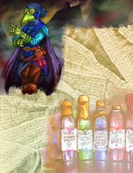 Blackthorne Rogue Apothecary by AnagramDaine