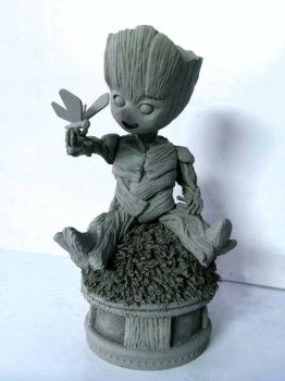 Kid Groot by lawliet21-27