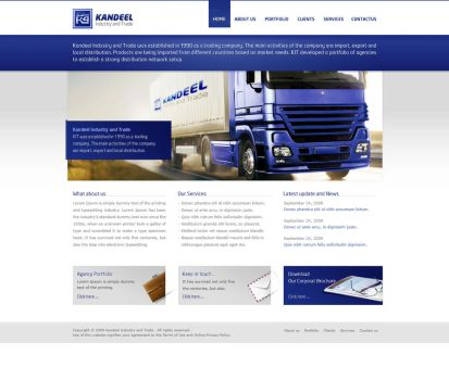 Kandeel Website by OneOusa